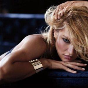 """Victoria's Secret """"Scandalous"""" Gold Tone Bracelet"""